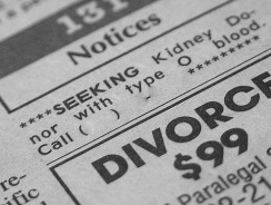 Divorce on a budget