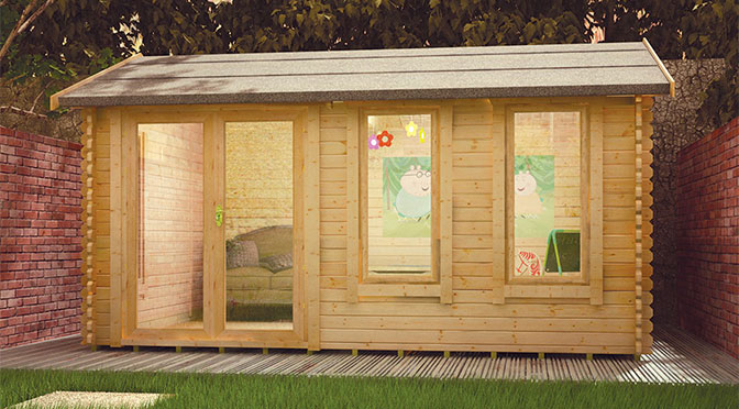 Home extensions with a garden office